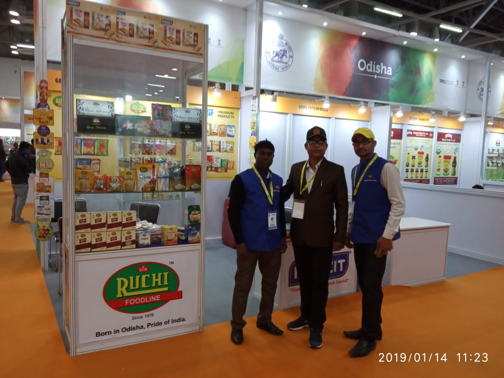 Latest Event - RUCHI Stall at Indus Food Delhi